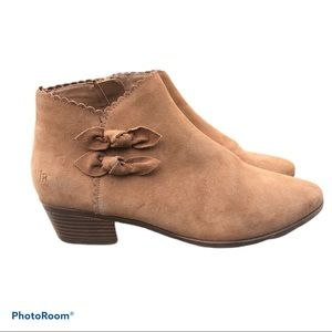 Jack Rogers Tan Ankle Boots Size 8